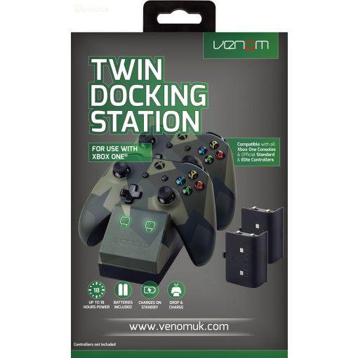 Xboxone Twindock töltő camuflage